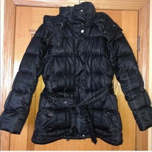 Burberry Brit Quilted Down Puffer Coat